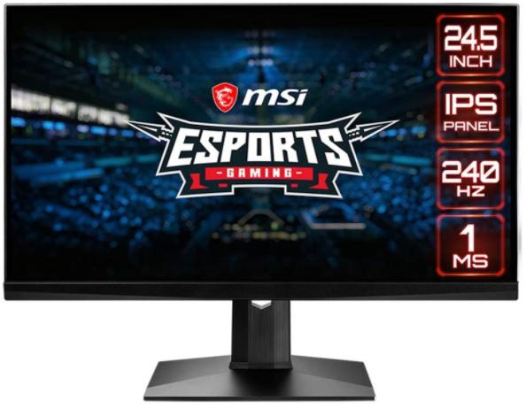 MSI Optix MAG251RX schermo  gaming
