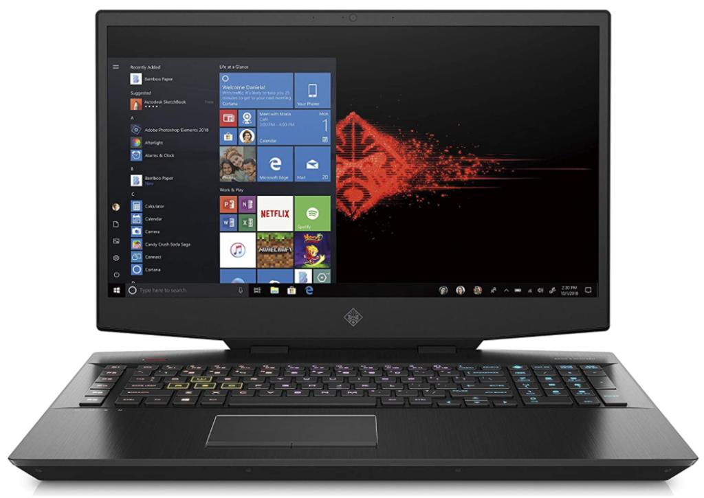 HP-OMEN 17-cb1002nl migliori pc gaming