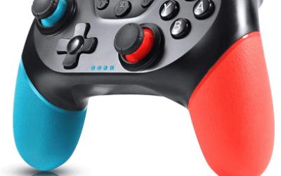 Controller blu e rosso