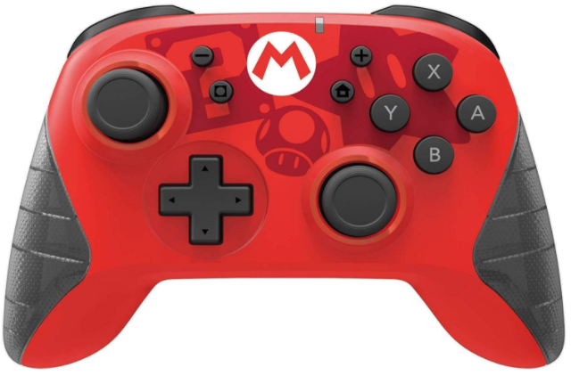 Hori Controller Wireless Super Mario Edition