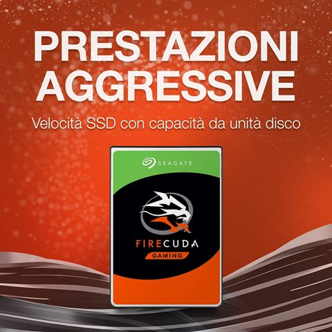 Firecuda Hard disk 1Tb