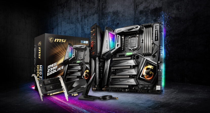 MSI MEG Z390 GODLIKE LGA1151 (Intel 8th and 9th Gen) M.2 USB 3.1 Gen 2 DDR4 Gaming Motherboard
