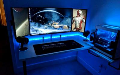Scrivania Gaming con impianto Audio